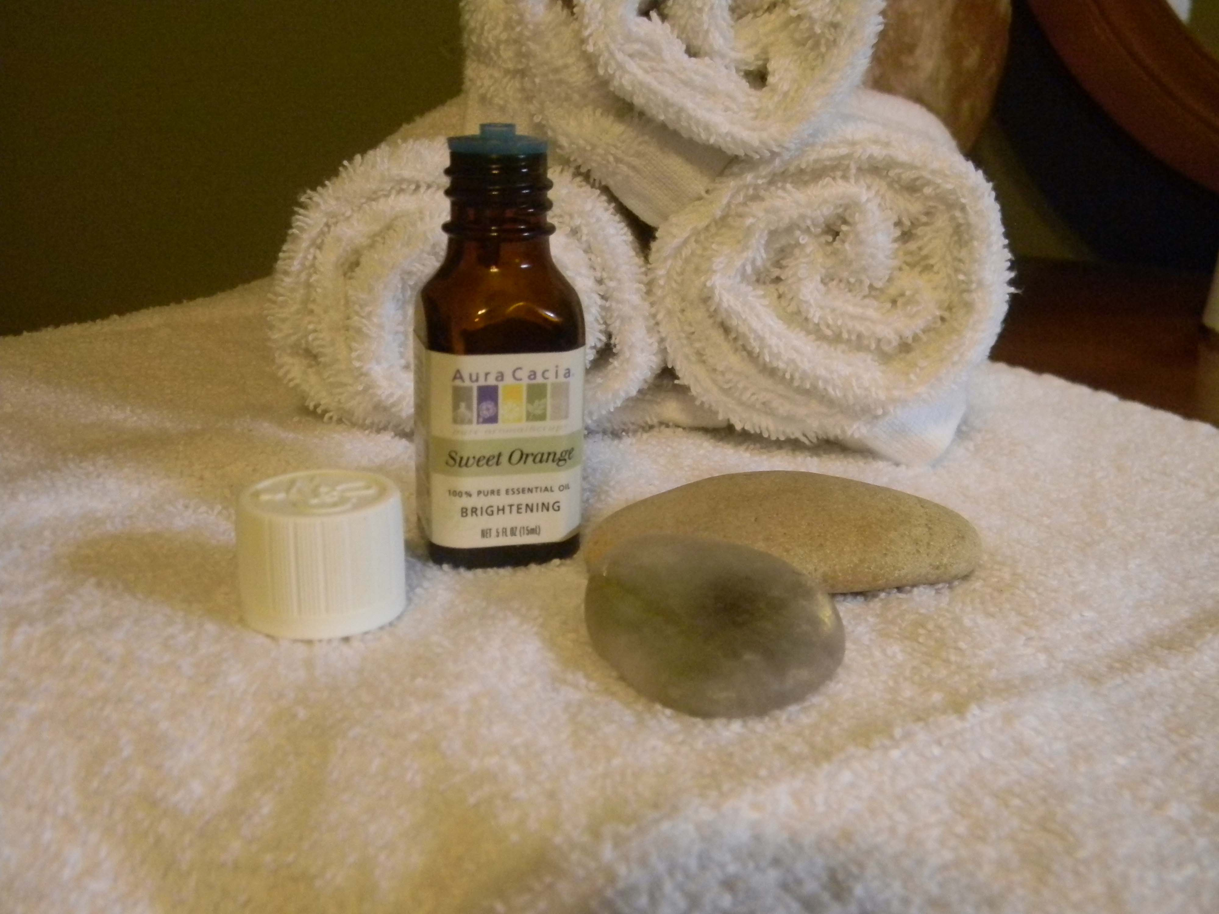 Massage oil recipes for stress, headaches, back pain, muscle cramps, and more...