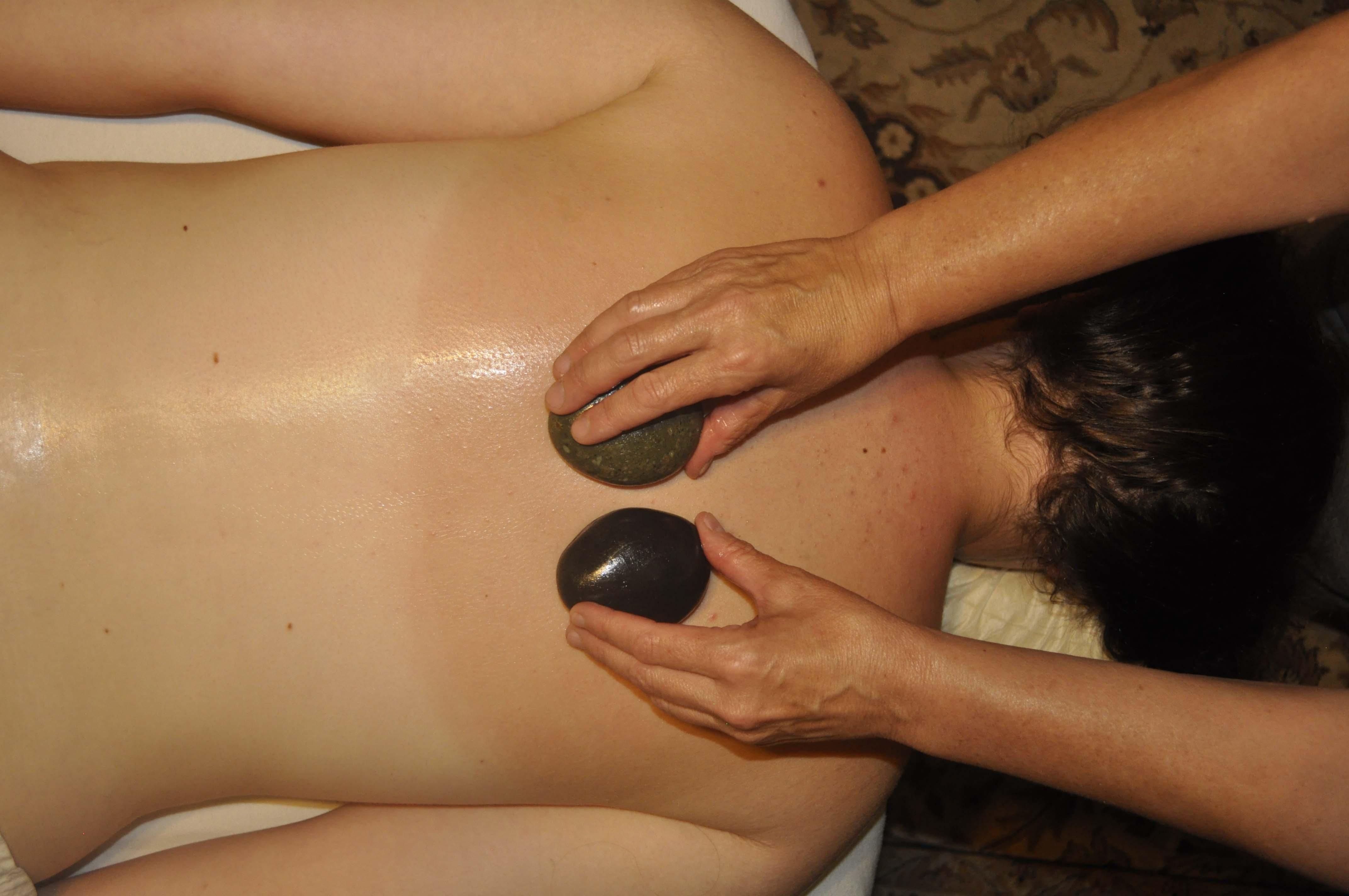 Back pain massage!